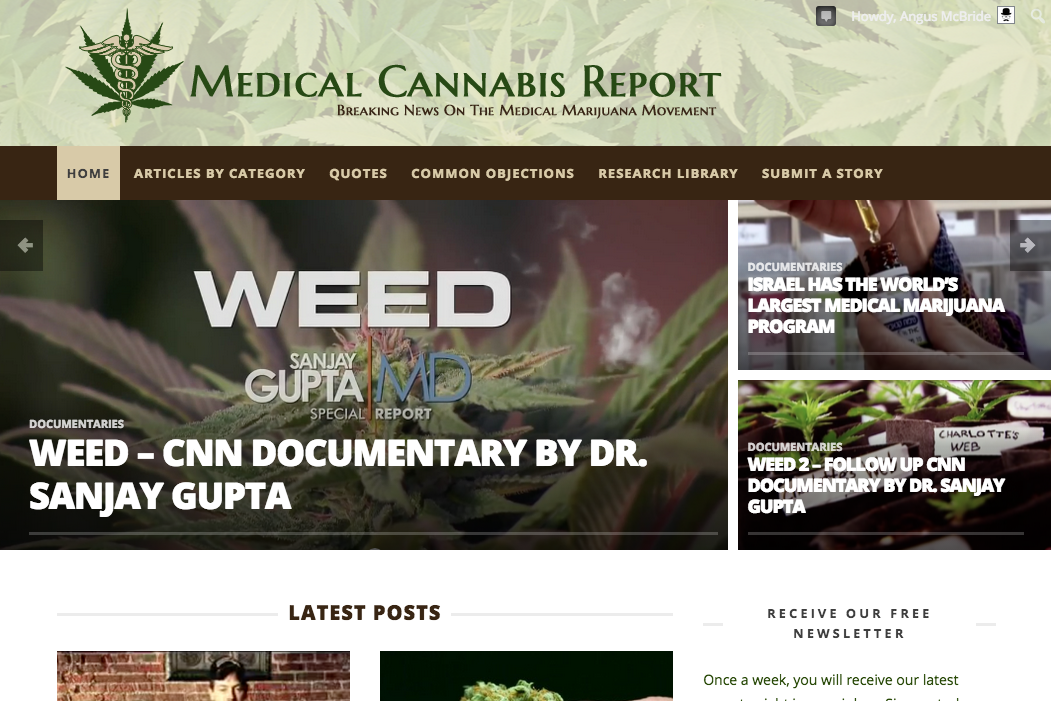 Medical Cannabis Report - cover